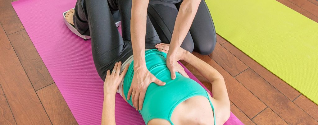 Working on exercises that mitigate bladder and bowel incontinence